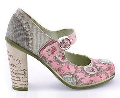 zapatos marie antoinette de hot chocolate design
