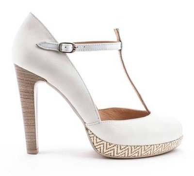 PEEP-TOE BLANCO de Hispanitas