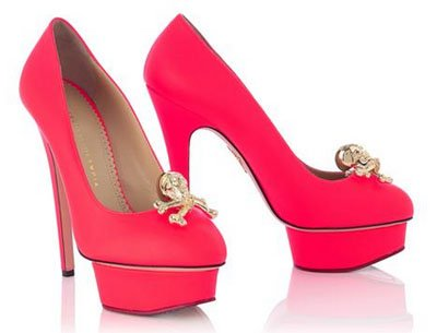 Zapatos The Dolly Roger de Charlotte Olympia -col 2014