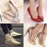 ¿Te gustan los zapatos brillantes?